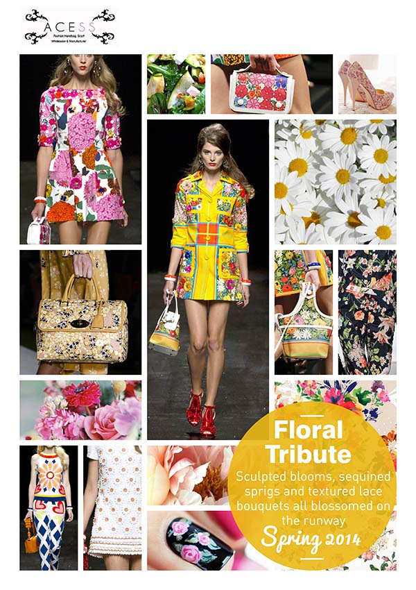 Acess Floral Fashion Trends