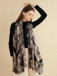 SF1343-BLK - Lady Winter Large Shawl Wraps