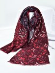 SF1344-RED - Lady Winter Large Shawl Wraps