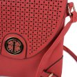 VK5342 Red - Cut About Flap Cross Body Bag