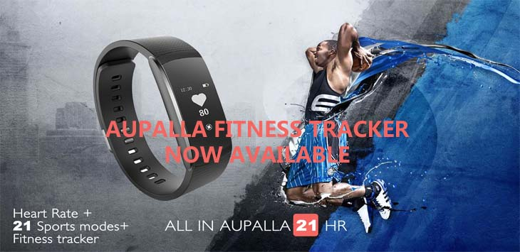 AUPALLA FITNESS TRACKER NOW AVAILABLE IN ACESS