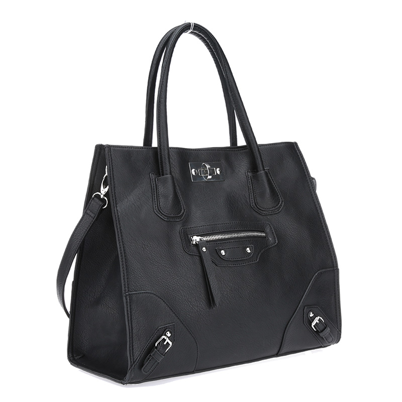 Ex-Chain Store Designer Inspired Classic Large City tote Bag with tag