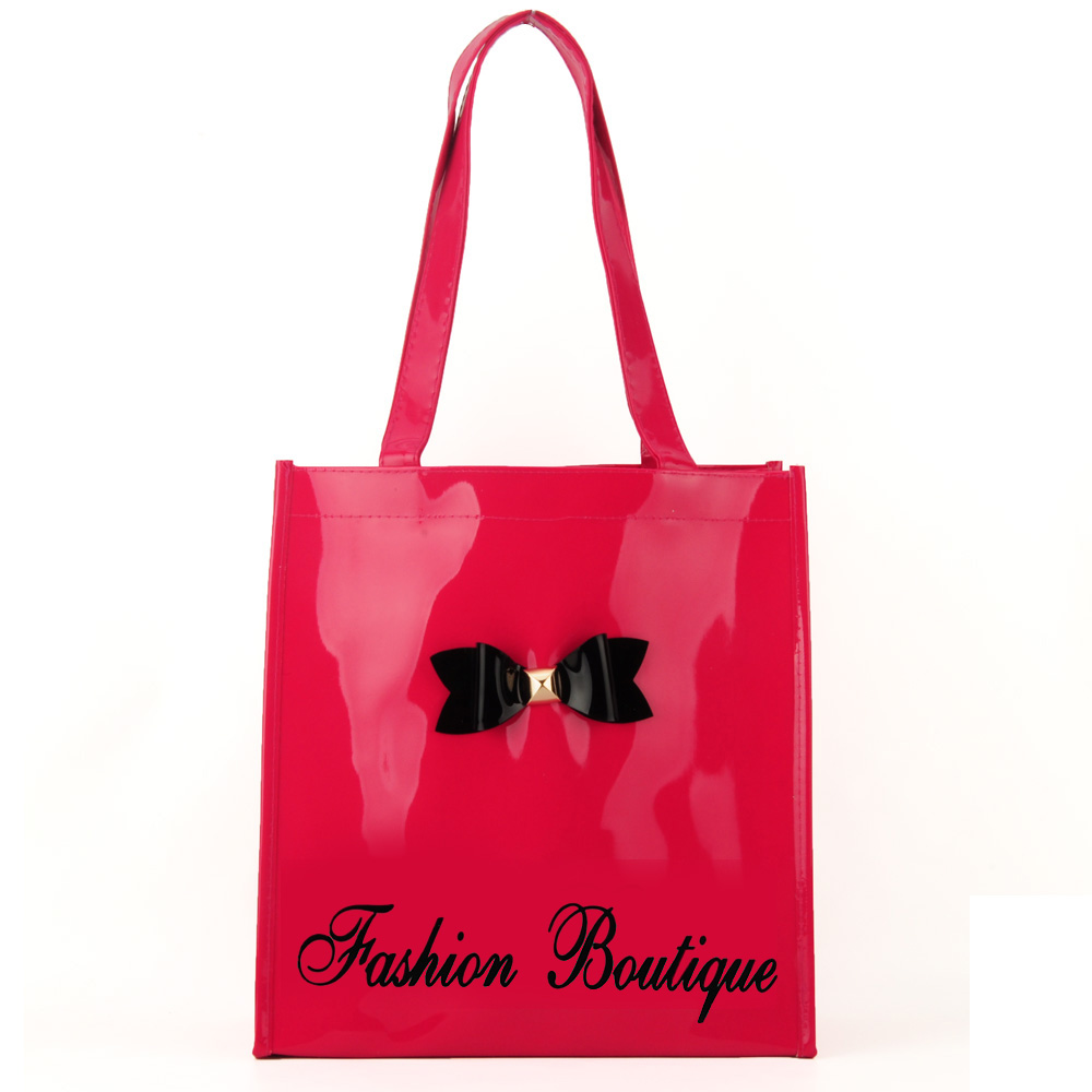 Patent Bow Shopper