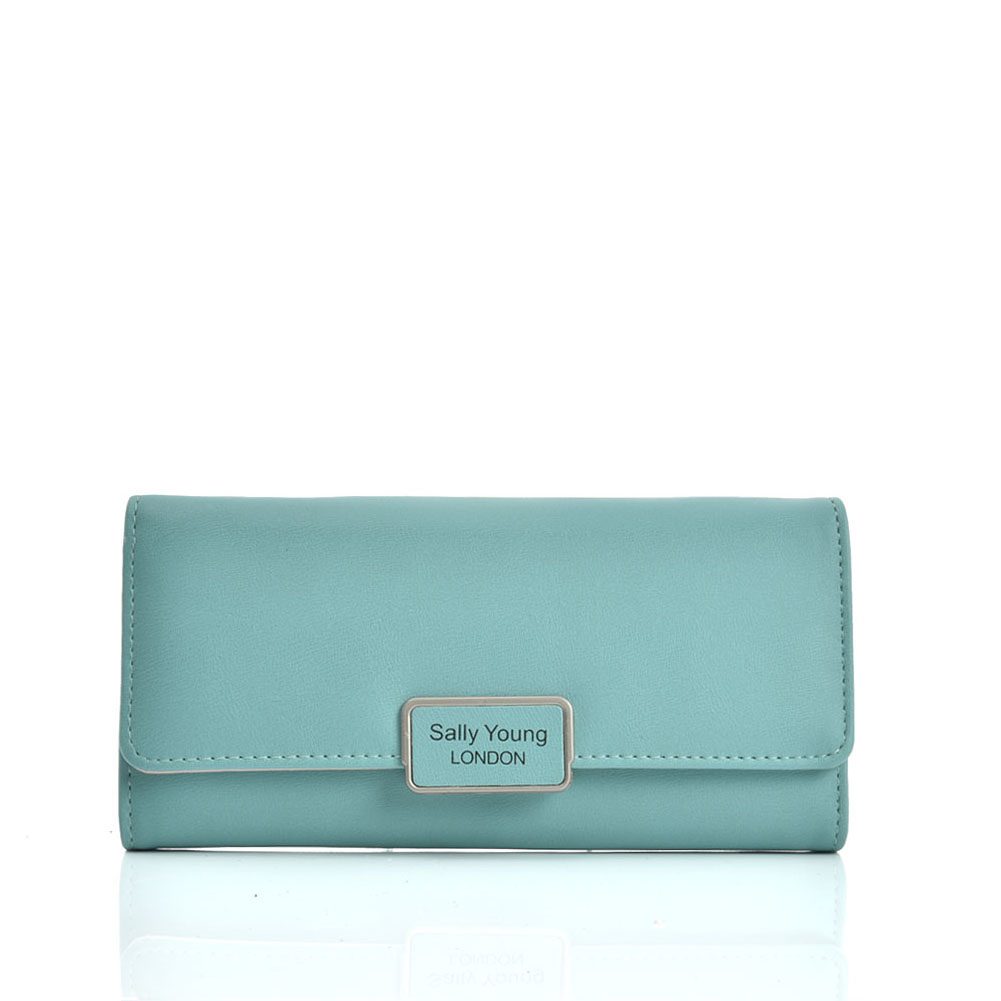 VKP1584 Green - Sally Young Fashion Wallet With Foldable Design
