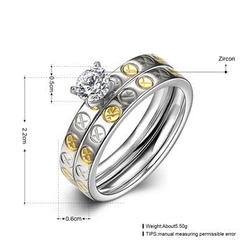 R069-A-8 Fashion titanium steel ring