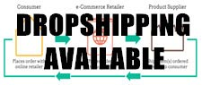 Dropshipping Available - No minimum Quantity