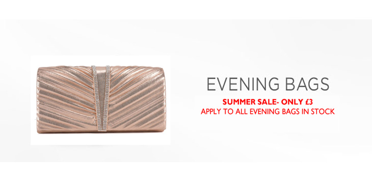 Summer SALE: All Evening Bags Now £3!! No Minimum Quantity