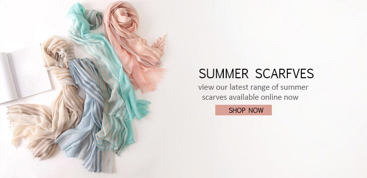 Summer2018 Scarves Collection Arrived