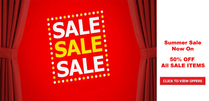 Summer Sale Still HOT! 50% OFF ALL SALE ITEMS