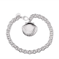 H346 Latest Women Classy Design silver plated bracelet Factory Direct Sale