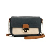 Ex-M&CO UK High Street Lock Patchwork Bag with Tag. Tag Price £22