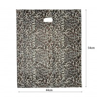 HGRQ057-1A - Leopard Printing 25*35cm Carrier Bag*100pcs