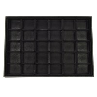 HGRQ126 Black - Jewellery Display Box