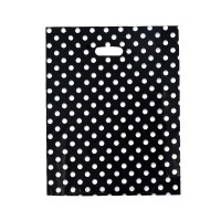 HGRQ131 A - 25*35cm Dot Pattern Bag Large Carrier Bag *150pcs