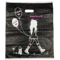 HGRQ240 A - Large Beautiful Girl 50*60cm Carrier Bag*100pcs