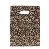 HGRQ241-1  F - Leopard Printing 25*35cm Carrier Bag*100pcs