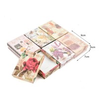 HGRQ319 Assort Color 12pcs - Jewelry Gift Box Size 7*3*9