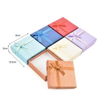 HGRQ321 Assort Color 12pcs - Jewelry Gift Box Size 9*8.5*3