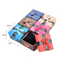 HGRQ324 Assort Color 6pcs - Jewelry Watch Bracelet Gift Box Size 9*8.5*5.5