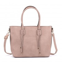 K0047 Pink - New Style Women Large Tote Bag