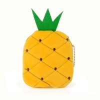 LBQ364-1 Yellow - Cartoon Pineapple Purse Wallet