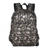 QQ2143 Green - Simple Travel Oxford Camouflage Backpack School Rucksack