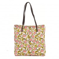 QQ2162 A - Banana Pattern Large Handbag
