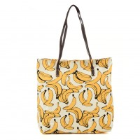 QQ2162 O - Banana Pattern Large Handbag