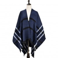 SF1027 Navy - Oversize Supersoft Cape Scarf