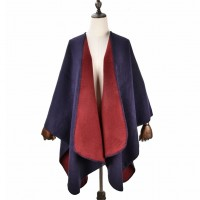 SF1040 Red - Lady Winter Large Shawl Wraps