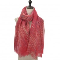 SF1099 Fushia - Matching Colors Small Sequins Scarf For Women