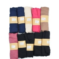 SF1146 Assorted - Pure Color Thin Scarf For Women × 10pcs