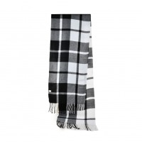 SF947 Black&white assort - Fashion Women Classic Plaid Tassel Scarf