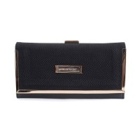 SY1565-1 Black - Sally Young Boutique Foldable Purse Wallet