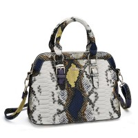 SY2089 Yellow - Sally Young Trendy Serpentine Colorful Women Handbags
