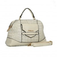 SY2099 White - Sally young Fashion Designer Crocodile Pattern Women Handbags