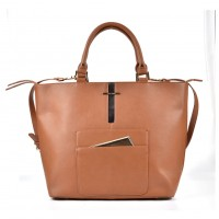 (Monica) Sally Young Illusion Handbag Collection SY2106 Brown