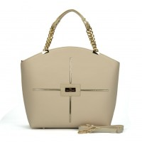(ULTRA) Sally Young Frenchie Handbang Collection SY2107 Beige