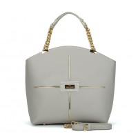 (ULTRA) Sally Young Frenchie Handbang Collection SY2107 Grey