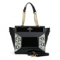 (Danish) Sally Young Shapes Collection Handbags. SY2109 Black