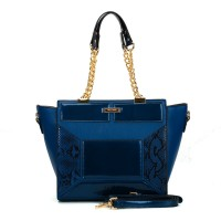 (Danish) Sally Young Shapes Collection Handbags. SY2109 Blue