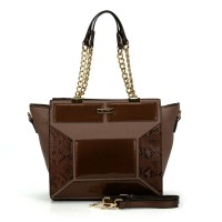 (Danish) Sally Young Shapes Collection Handbags. SY2109 Gold