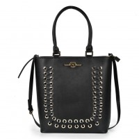 (Sophia) Sally Young Frenchie Handbags Collection SY2110 Black