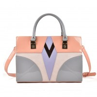 (Prague) Sally Young Shapes Collection Handbags SY2111 Pink
