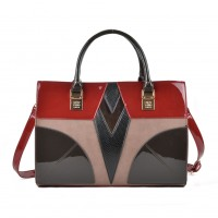 (Prague) Sally Young Shapes Collection Handbags SY2111 Red