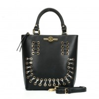 (Smiley) Sally Young Illusion Handbags Collection. SY2113 Black