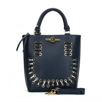 (Smiley) Sally Young Illusion Handbags Collection. SY2113 Blue