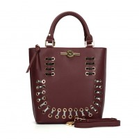 (Smiley) Sally Young Illusion Handbags Collection. SY2113 Red