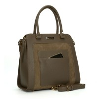(Librarian) Sally Young Women Handbags SY2116 Apricot