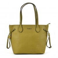 SY2155 Green - Women Tote Bag With Metal Detail